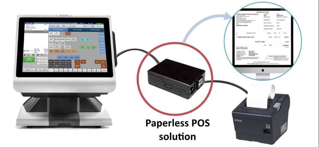 Paperless POS